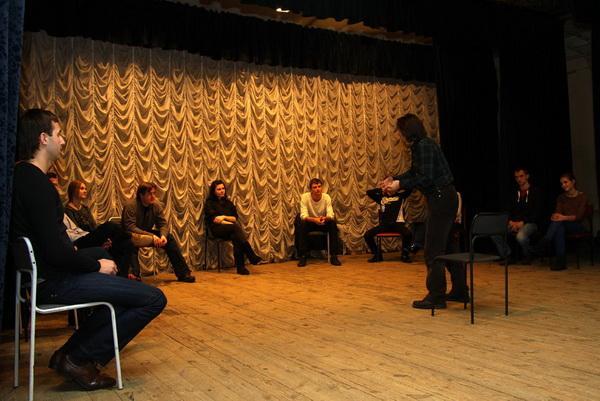 занятия в театральной студии